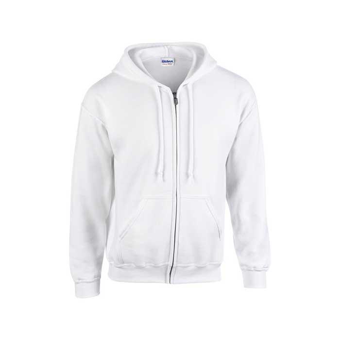 Cipzáros kapucnis pulóver Gi18600 fehér.  Cipzáros kapucnis pulóver Gi18600 melírszürke.  Cipzáros kapucnis pulóver Gi18600 sötétmelírszürke 5f7c7700b8